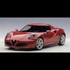 ALFA ROMEO 4C (Alfa Red ) (COMPOSITE) -  Auto Art 1:18 Diecast
