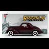 Studebaker Dictator Coupe 1937 maroon  Brooklin 1:43 Diecast