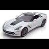 Chevrolet Corvette Stingray Z51 2014 silver - Maisto 1:18 Diecast