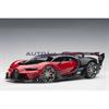 BUGATTI Vision Gran Turismo Red, Black Carbon AUTOart 1:18 Composite