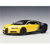 Bugatti Chiron 2017 Yellow, Nocturne Black AutoArt 1:18 Composite
