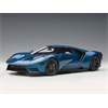 Ford GT 2017 liquid blue AutoArt 1:18 model