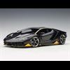 Lamborghini Centenario Clear Carbon, Yellow Accents AutoArt 1:18 Diecast