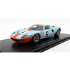 Ford GT40 Le Mans 1968 winner #9 1:43 Scale Diecast by Atlas