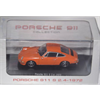 Porsche 911 S 2.4 1972 orange 1:43 Scale Diecast Model by Atlas