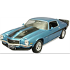Chevrolet Camaro 1971 Baldwin Motion blue - AutoWorld 1:18 Diecast