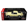 Ford Mustang GT 2+2 1967 50th ann yellow AutoWorld 1:18 Diecast model