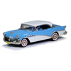 Buick Century 4 door Hardtop 1956 Dover white over Blue Brooklin 1:43 Diecast