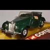 MG TF 1955 cream, purple Corgi 1:43 Diecast