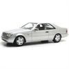 Mercedes-Benz 600 SEC C140 1992 silver 1:18 Resin Diecast Cult Models