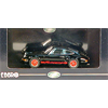 Porsche 911 2.7 RS 1973 black, red stripes Ebbro 1:43 Diecast