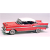 Chevrolet Bel Air 1957 coupe red Matchbox 1:43 Diecast