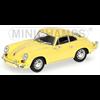 Porsche 356C Coupe 1965 yellow Minichamps 1:43 Diecast