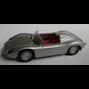 Porsche 718 RS 60 Spyder silver Minichamps 1:43 Diecast