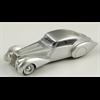Delage D8 120 Pourtout 1937 silver Spark 1:43 Resin Diecast