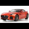 Jaguar F-Type SVR Coupe firesand orange Dragon 1:18 Diecast