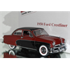 Ford Crestliner 1950 red, black Danbury Mint 1:24 Diecast