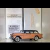Chevrolet Nomad 1955 coral, grey Danbury Mint 1:24 Diecast