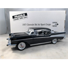 Chevrolet Bel Air 1957 black Danbury Mint 1:24 Diecast