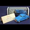 Chevrolet 2 door coupe 1941 blue Durham 1:43 diecast