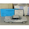 Chevrolet Impala 1960 white Franklin Mint 1:24 Diecast