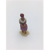 Figure: woman, white blouse, purple dress, Omen 1:43