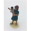 Figure: woman, carrying baby Omen 1:43