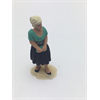 Figure: woman, green shirt, black dress Omen 1:43