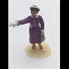 Figure: woman, purple dress pointing Omen 1:43