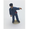 Figure: man, blue suit left arm raised Omen 1:43