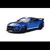 Ford Shelby GT500 velocity blue 1:18 resin model GT Spirit