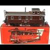 Caboose, American Brake Van Marklin Train HO