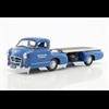 Mercedes-Benz renntransporter das blaue Wunder 1955 iScale 1:18 model
