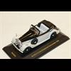 Alvis 4.3L Drophead convertible 1938 white, black IXO Museum Models 1:43 Diecast