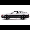 Toyota Trueno  AE86 1986 white Jada 1:24 Diecast