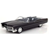 Cadillac DeVille convertible 1968 black KK-Scale 1:18 Resin model