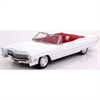 Cadillac DeVille convertible 1968 white KK-Scale 1:18 Resin model
