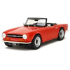 Triumph TR6 1970 red 1:18 scale resin Diecast by LS Collectibles
