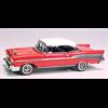 Chevrolet Impala 1959 convertible white Matchbox 1:43 Diecast