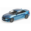 BMW M2 Competition 2019 blue metallic Minichamps 1:18 Diecast model