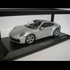 Porsche 911 Carrera 4S 2019 silver Minichamps 1:18 diecast