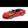 Porsche 911 Carrera 4S Cabriolet 2019 red Minichamps 1:18 Diecast model
