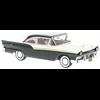Ford Fairlane 500 hardtop 1957 black, white NEO 1:43 Resin Diecast