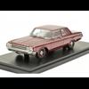Dodge 330 Sedan 1965 dark red metallic NEO 1:43 Resin Diecast model