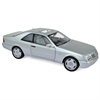 Mercedes-Benz S600 SEC (C140) 1998 silver Norev 1:18 Diecast
