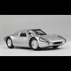 Porsche 904 GTS 1964 silver metallic Norev 1:18 Diecast model