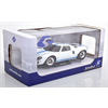 Ford GT40 white, blue stripes Solido 1:18 Diecast