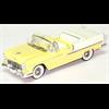Chevrolet Bel air 1955 Convt  Yellow/Whie - Sun Star 1:43 Diecast