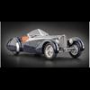 Bugatti 57 SC Corsica Roadster 1938 black CMC 1:18 diecast model