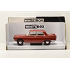 Peugeot 404 1960 dark red WhiteBox 1:24 Scale Diecast model